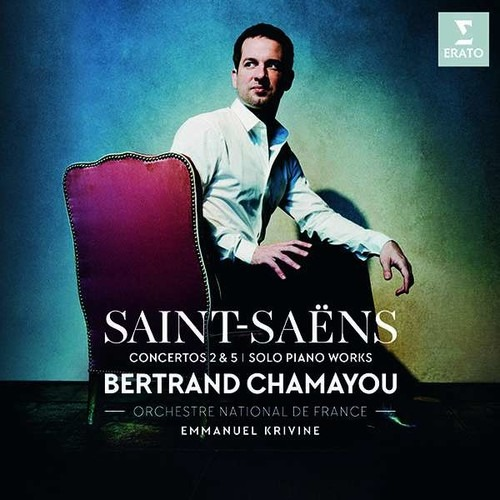 Saint-Saens: Piano Concertos Nos 2 & 5 - Bertrand Chamayou