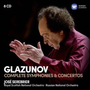 Glazunov: The Complete Symphonies - Rachel Barton Pine