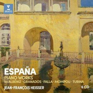 Espana, Piano Works - Jean-Francois Heisser