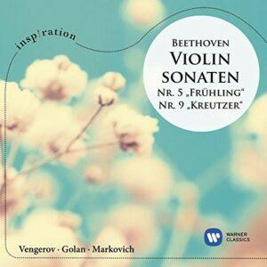 """Beethoven: Violin Sonatas Nos.5 """"Frühling"""" & 9 """"Kreutzer"""" - Maxim Vengerov"""