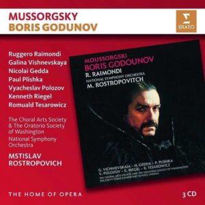 Mussorgsky: Boris Godunov - Mstislav Rostropovich