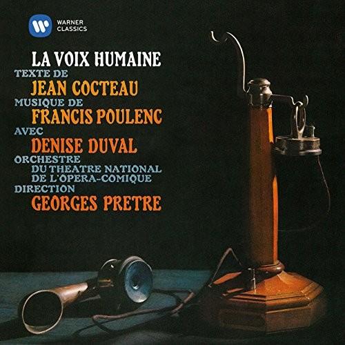 Poulenc: La voix humaine / Cocteau: Le bel indifférent - Édith Piaf & Denise Duval