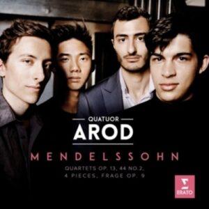 Mendelssohn: String Quartets Nos. 2, 4 & 7 - Arod Quartet