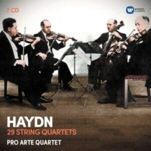 Haydn: 29 String Quartets - Pro Arte Quartet