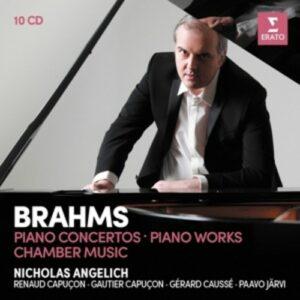 Brahms: Piano Concertos  / Piano Works - Nicholas Angelich
