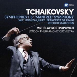 Symphonies 1-6 - Mstislav Rostropovich
