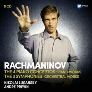 Rachmaninov: Piano Concertos, Symphonies - Nikolay Lugansky
