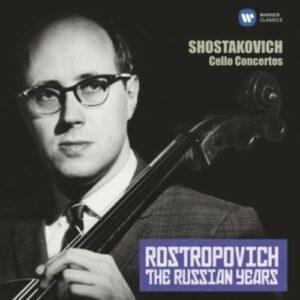 Shostakovich: Cello Concertos Nos. 1 & 2 - Mstislav Rostropovich