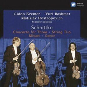 Schnittke: Concerto For Three - Mstislav Rostropovich