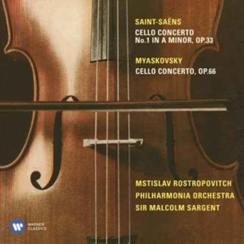 Saint-Saens / Myaskovsky: Cello Concertos - Mstislav Rostropovich