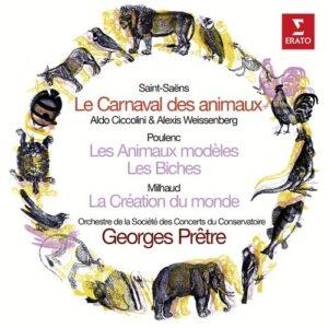 Saint-Saëns / Poulenc: Le Carnaval Des Animaux - George Prêtre