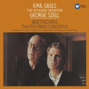 Beethoven: Piano Concertos 1-5 - Emil Gilels