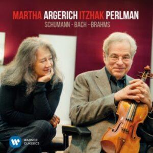 Schumann,  Bach,  Brahms - Martha Argerich & Itzhak Perlman