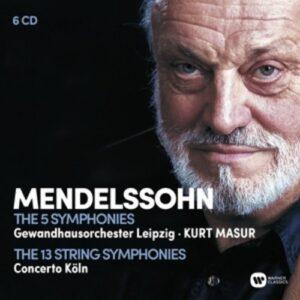 Mendelssohn: The Complete Symphonies - Kurt Masur