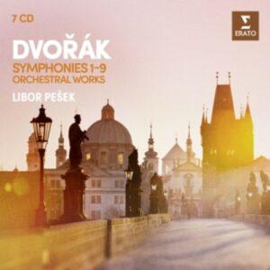 Dvorak: The 9 Symphonies - Libor Pesek