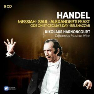 Handel: Great Oratorios - Nikolaus Harnoncourt