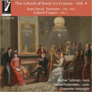 G / Hermann, J.D. Foignet: The School Of Harp In France  Vol 4 - Talidman