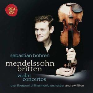 Mendelssohn / Britten: Violin Concertos - Sebastian Bohren