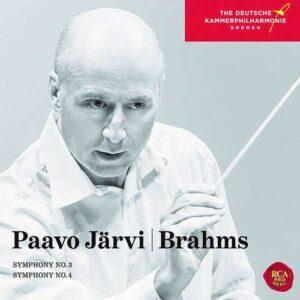 Brahms: Symphonies Nos.3 & 4 - Paavo Järvi
