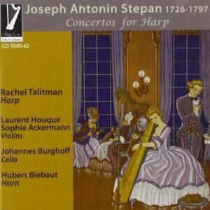 Antonin Joseph Stepan: Concertos For Harp - Rachel Talitman