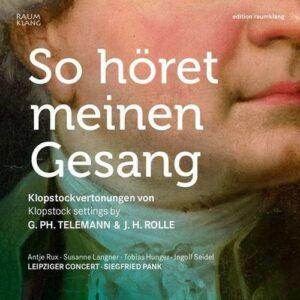 So Höret Meinen Gesang - Leipziger Concert & Siegfried Pank