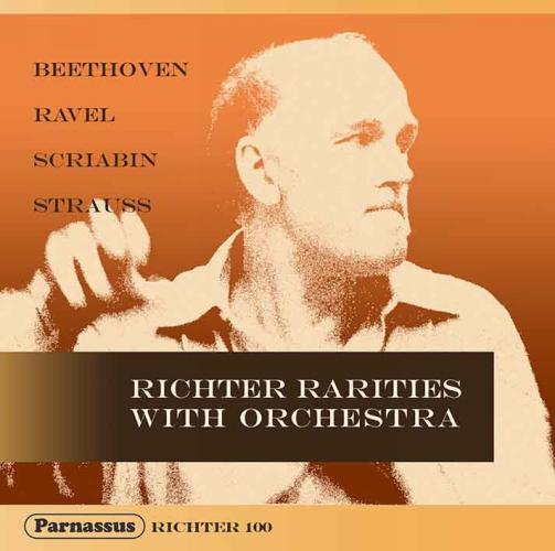 Richter rarities with orchestra.