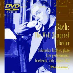 Bach : Le clavier bien tempéré. Richter.