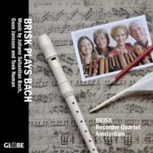 Bach / Janssen / Numan: Brisk Plays Bach