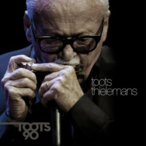Toots 90 (Limited Boxset - English) Book / CD / DVD / LP - Toots Thielemans