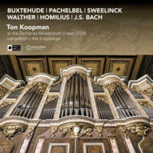 Bach / Pachelbel / Sweelinck / Homilius / Walther: Ton Koopman At The Zacharias Hildebrandt Organ
