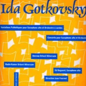 Ida Gotkovsky: Variations Pathétiques Pour Saxophone - Ed Bogaard