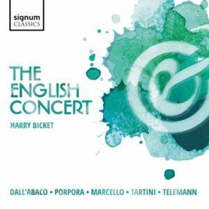 Concertos by Telemann, Dall'Abaco, Porpora, Marcello, Tartini - The English Concert