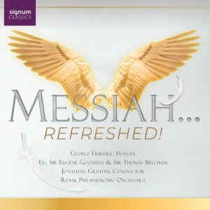 Handel: Messiah...Refreshed! - Jonathan Griffith