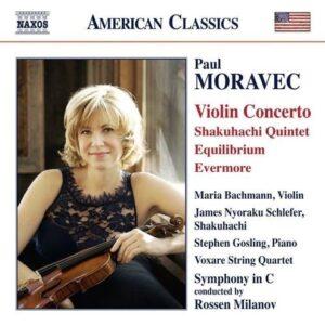 Paul Moravec: Violin Concerto / Shakuhachi Quintet / Milanov