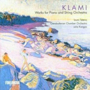 Klami: Piano & String Orchestra - Tateno / Ostrobothnian Chamber Orchestra
