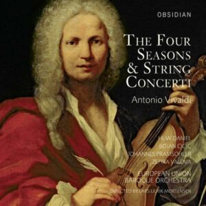 A. Vivaldi: Four Seasons & String Concerti - European Union Baroque Orchestra / Mortensen