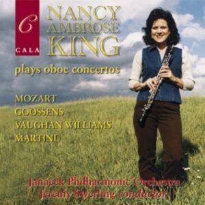 Nancy Ambrose King Plays Oboe Concertos - Nancy Ambrose King