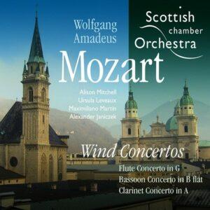 Mozart: Wind Concertos - Scottish Chamber Orchestra