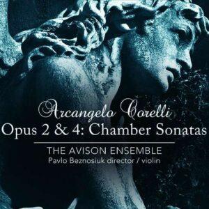 Arcangelo Corelli: Sonate da Camera Op.2 & 4 - The Avison Ensemble