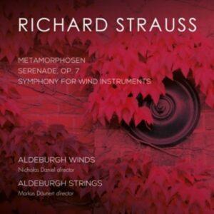 Richard Strauss: Metamorphosen / Serenade - Aldeburgh Winds & Strings