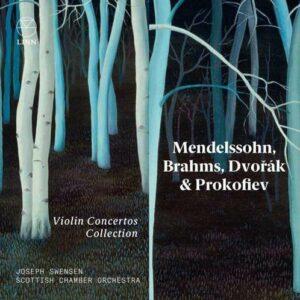 Mendelssohn / Brahms / Dvorak / Prokofiev: Violin Concertos Collection - Joseph Swensen