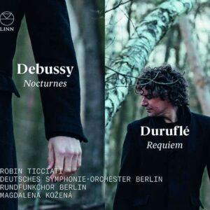 Debussy: Nocturnes / Duruflé: Requiem - Magdalena Kozena, Robin Ticciati