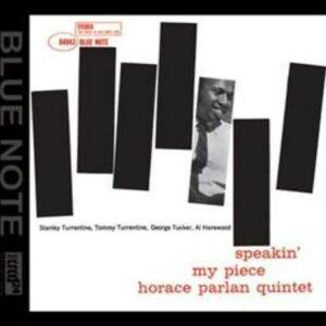 Speakin' My Piece - Horace Parlan