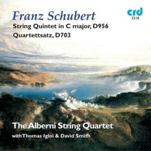 Schubert : Quintette et quatuor à cordes. Igloi, Quatuor Alberni.