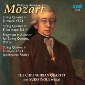 Wolfgang Amadeus Mozart: String Quintets - The Chilingirian Quartet
