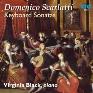 Scarlatti : Sonates pour clavier. Black.