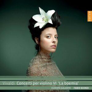 Vivaldi: Concerti Per Violino VI 'La Boemia' - Fabio Biondi