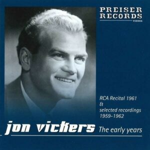 The early Years - Jon Vickers