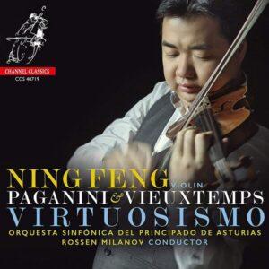 Paganini / Vieuxtemps: Violin Concertos - Ning Feng