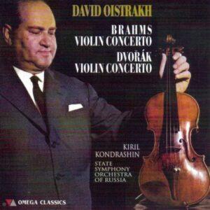 Brahms, Dvo?ák : Concertos pour violon. Oistrakh, Kondrachine.